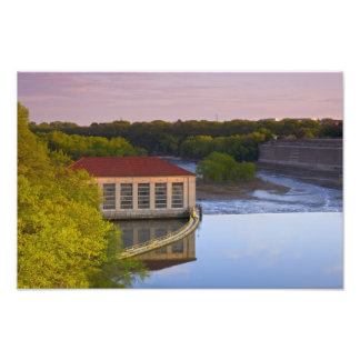 Highland Park Powerhouse and Dam Photo Print