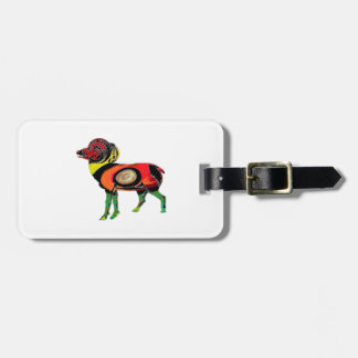 HIGHLAND PATTERNS LUGGAGE TAG