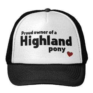 Highland pony cap