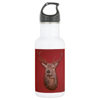 Highland Red Stag Water Bottle 532 Ml Water Bottle