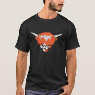 Highlander cow head t-shirt