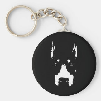 Highlight Dobe Basic Round Button Key Ring