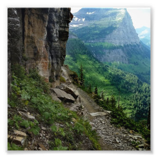 Highline Trail Glacier National Park Montana Photo