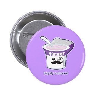 Highly Cultured 6 Cm Round Badge
