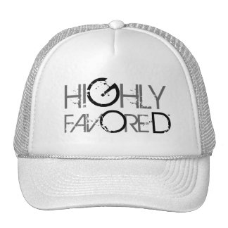 Highly favored cap