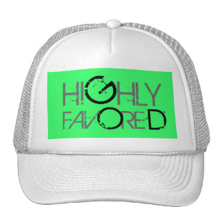 Highly favored (green) cap