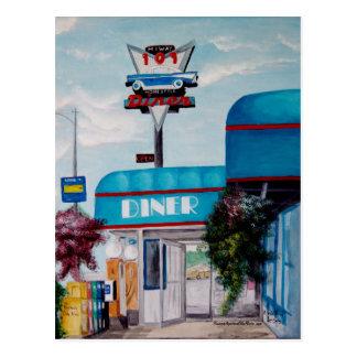 Highway 101 Diner Postcard