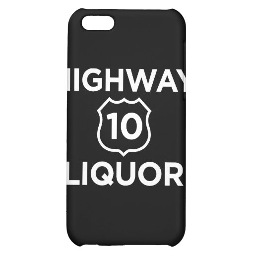 Highway 10 Liquor Case For iPhone 5C