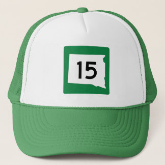 Highway 15, South Dakota, USA Trucker Hat