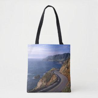 Highway 1 along the California Coast near Tote Bag