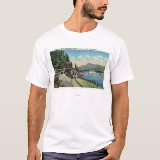 Highway and Railway Tunnels near Bonneville T-Shirt