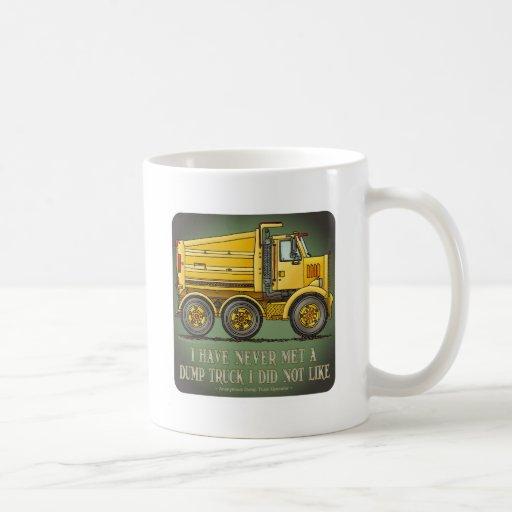Highway Dump Truck Operator Quote Coffee Mug