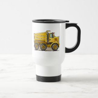 Highway Dump Truck Travel Mug