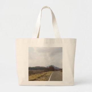 Highway in Scottish Highlands Bags