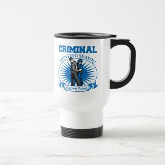 Highway Patrol Criminal Hunting Season Coffee Mug