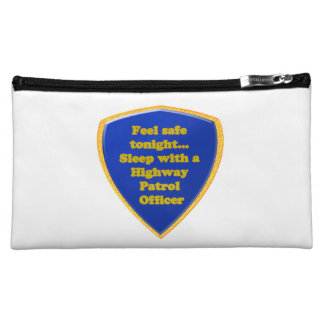 Highway Patrol Officer Cosmetic Bags