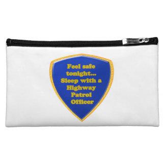Highway Patrol Officer Makeup Bag