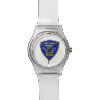 Highway Patrol Officer Watch