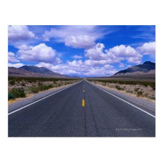 Highway Through Death Valley, California Postcard
