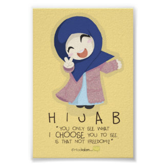 Hijab is Freedom Poster