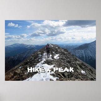 Hike a Peak Poster