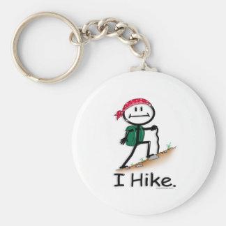 Hike Basic Round Button Key Ring