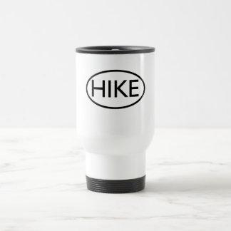 Hike in Oval Travel Mug