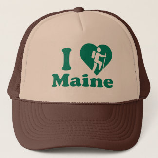 Hike Maine Trucker Hat