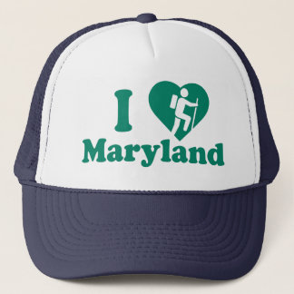 Hike Maryland Trucker Hat