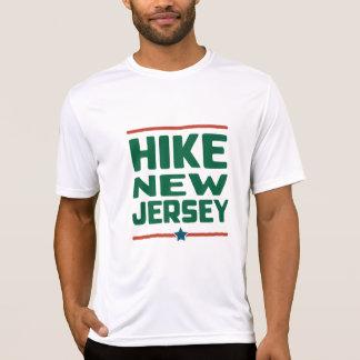 Hike New Jersey (Star) - Wicking T-Shirt