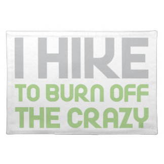 Hike off the Crazy Placemat