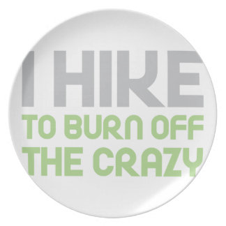 Hike off the Crazy Plate