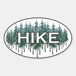 HIKE Oval Logo Oval Sticker
