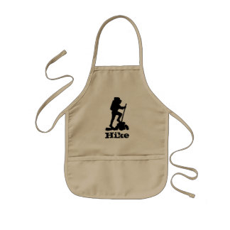 Hike the Mountains Kids Apron