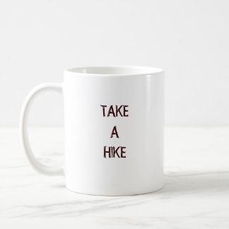 Hike Through the Woods Basic White Mug