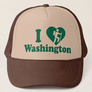 Hike Washington Trucker Hat
