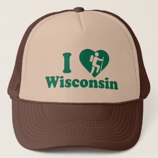 Hike Wisconsin Trucker Hat