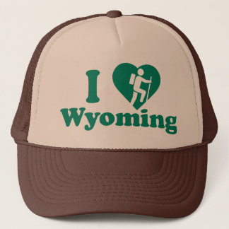 Hike Wyoming Trucker Hat