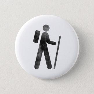 Hiker 6 Cm Round Badge