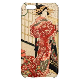 Hikeyotsu no yoru no ame (Vintage Japanese print) Cover For iPhone 5C