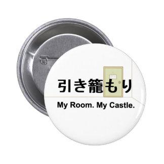Hikikomori Button Kanji ver