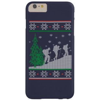 Hiking Christmas Barely There iPhone 6 Plus Case
