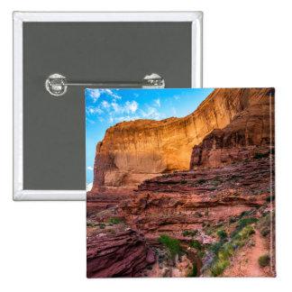 Hiking Coyote Gulch - Utah 15 Cm Square Badge
