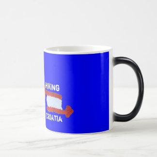 Hiking Croatia sulk Morphing Mug