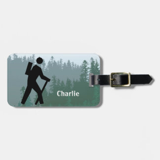 Hiking Design Luggage Tags