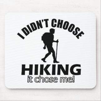 Hiking design mouse pad