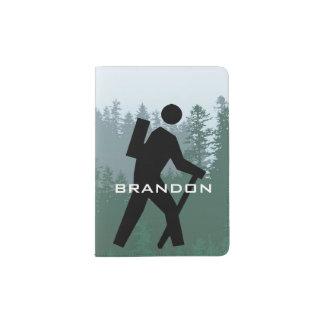 Hiking Design Passport Cover