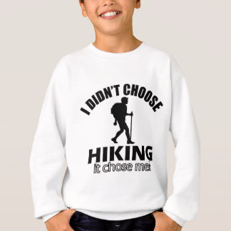 Hiking design sweatshirt