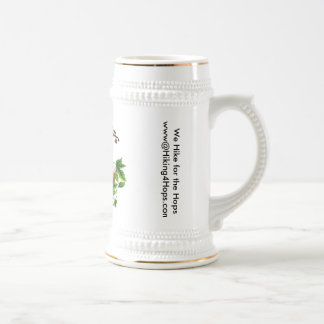 Hiking for Hops 22 oz Beer Stein