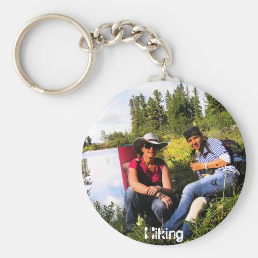 Hiking Girls Key Chains